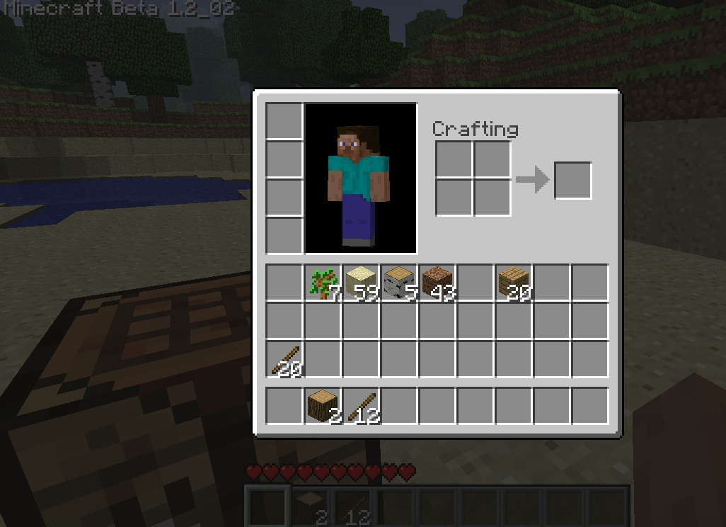 crafting table doesn't work?? | World of Minecraft