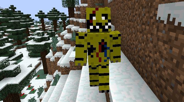 Minecraft Fnaf Mod V2 0 Peek D Youtube