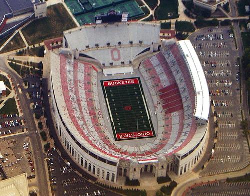 ohio stadium map