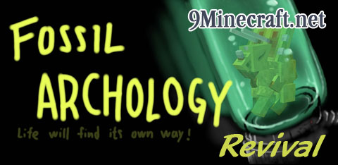 Fossil/Archeology Revival Mod for Minecraft 1 9/1 8 9/1 7 10   World