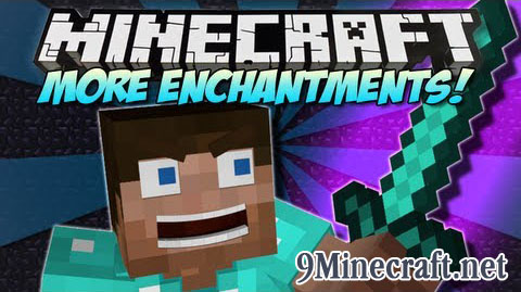 More Enchantments Mod for Minecraft 1 9/1 8 9/1 7 10 | World of